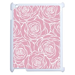 Pink Peonies Apple Ipad 2 Case (white) by 8fugoso