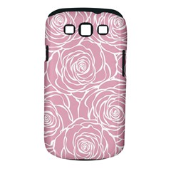 Pink Peonies Samsung Galaxy S Iii Classic Hardshell Case (pc+silicone) by 8fugoso