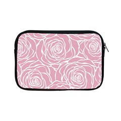 Pink Peonies Apple Ipad Mini Zipper Cases by 8fugoso