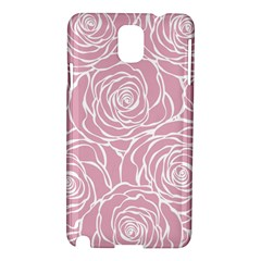 Pink Peonies Samsung Galaxy Note 3 N9005 Hardshell Case by 8fugoso