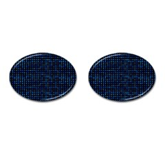 Sci Fi Tech Circuit Cufflinks (oval) by jumpercat