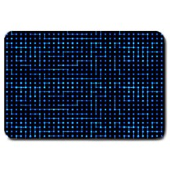 Sci Fi Tech Circuit Large Doormat  by jumpercat