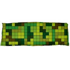 Tetris Camouflage Forest Body Pillow Case (dakimakura) by jumpercat