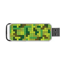 Tetris Camouflage Forest Portable Usb Flash (two Sides) by jumpercat