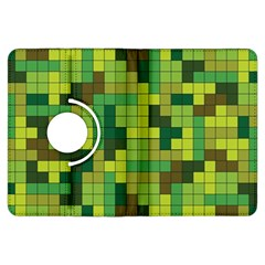 Tetris Camouflage Forest Kindle Fire Hdx Flip 360 Case by jumpercat