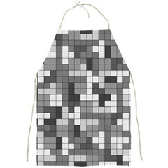 Tetris Camouflage Urban Full Print Aprons by jumpercat