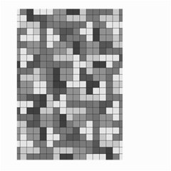 Tetris Camouflage Urban Large Garden Flag (two Sides) by jumpercat