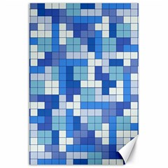 Tetris Camouflage Marine Canvas 20  X 30   by jumpercat