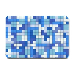 Tetris Camouflage Marine Small Doormat  by jumpercat