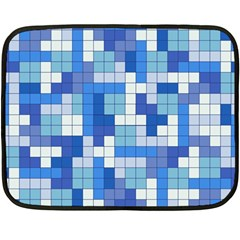 Tetris Camouflage Marine Double Sided Fleece Blanket (mini)  by jumpercat