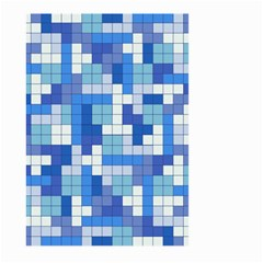 Tetris Camouflage Marine Large Garden Flag (two Sides) by jumpercat