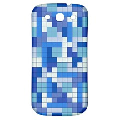 Tetris Camouflage Marine Samsung Galaxy S3 S Iii Classic Hardshell Back Case by jumpercat