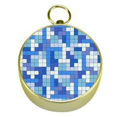 Tetris Camouflage Marine Gold Compasses by jumpercat