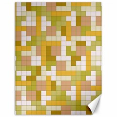 Tetris Camouflage Desert Canvas 12  X 16   by jumpercat
