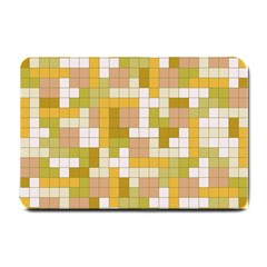 Tetris Camouflage Desert Small Doormat  by jumpercat