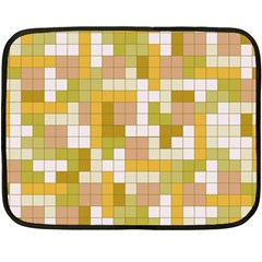 Tetris Camouflage Desert Double Sided Fleece Blanket (mini)  by jumpercat