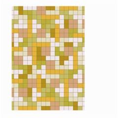 Tetris Camouflage Desert Large Garden Flag (two Sides) by jumpercat
