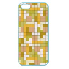 Tetris Camouflage Desert Apple Seamless Iphone 5 Case (color) by jumpercat