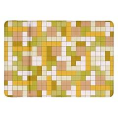 Tetris Camouflage Desert Samsung Galaxy Tab 8 9  P7300 Flip Case by jumpercat