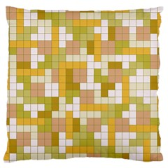 Tetris Camouflage Desert Standard Flano Cushion Case (one Side) by jumpercat
