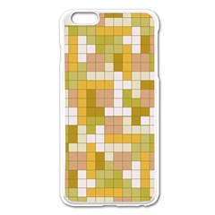 Tetris Camouflage Desert Apple Iphone 6 Plus/6s Plus Enamel White Case by jumpercat