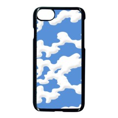 Cloud Lines Apple Iphone 7 Seamless Case (black) by jumpercat