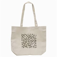 A Lot Of Skulls White Tote Bag (cream)