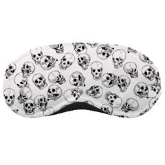 A Lot Of Skulls White Sleeping Masks by jumpercat