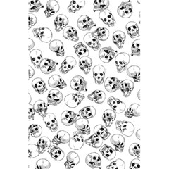 A Lot Of Skulls White 5 5  X 8 5  Notebooks by jumpercat