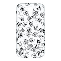 A Lot Of Skulls White Samsung Galaxy S4 I9500/i9505 Hardshell Case by jumpercat