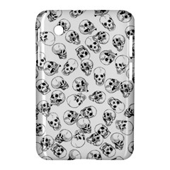 A Lot Of Skulls White Samsung Galaxy Tab 2 (7 ) P3100 Hardshell Case  by jumpercat