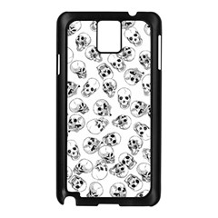 A Lot Of Skulls White Samsung Galaxy Note 3 N9005 Case (black) by jumpercat