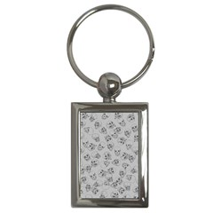 A Lot Of Skulls Grey Key Chains (rectangle)  by jumpercat