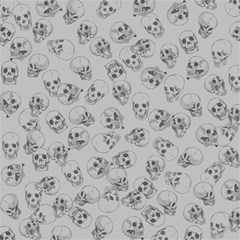 A Lot Of Skulls Grey Magic Photo Cubes by jumpercat