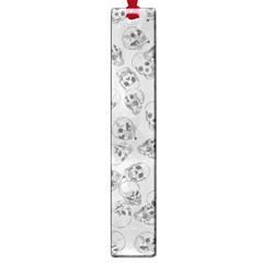 A Lot Of Skulls Grey Large Book Marks by jumpercat