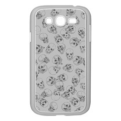 A Lot Of Skulls Grey Samsung Galaxy Grand Duos I9082 Case (white) by jumpercat