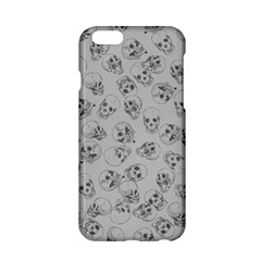 A Lot Of Skulls Grey Apple Iphone 6/6s Hardshell Case by jumpercat