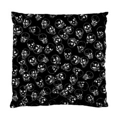 A Lot Of Skulls Black Standard Cushion Case (one Side) by jumpercat