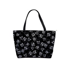A Lot Of Skulls Black Shoulder Handbags by jumpercat