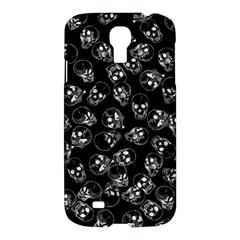 A Lot Of Skulls Black Samsung Galaxy S4 I9500/i9505 Hardshell Case by jumpercat