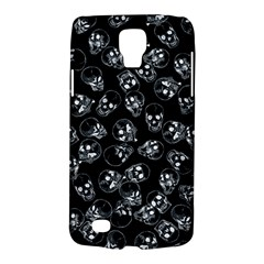 A Lot Of Skulls Black Galaxy S4 Active by jumpercat