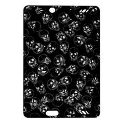 A Lot Of Skulls Black Amazon Kindle Fire Hd (2013) Hardshell Case by jumpercat