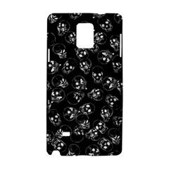 A Lot Of Skulls Black Samsung Galaxy Note 4 Hardshell Case by jumpercat
