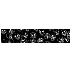 A Lot Of Skulls Black Small Flano Scarf by jumpercat