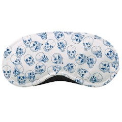 A Lot Of Skulls Blue Sleeping Masks by jumpercat