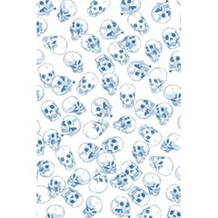 A Lot Of Skulls Blue 5 5  X 8 5  Notebooks by jumpercat