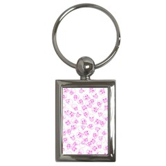 A Lot Of Skulls Pink Key Chains (rectangle)  by jumpercat