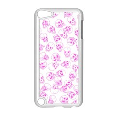 A Lot Of Skulls Pink Apple Ipod Touch 5 Case (white) by jumpercat