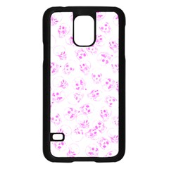 A Lot Of Skulls Pink Samsung Galaxy S5 Case (black) by jumpercat