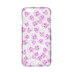 A Lot Of Skulls Pink Apple Iphone 6/6s Hardshell Case by jumpercat